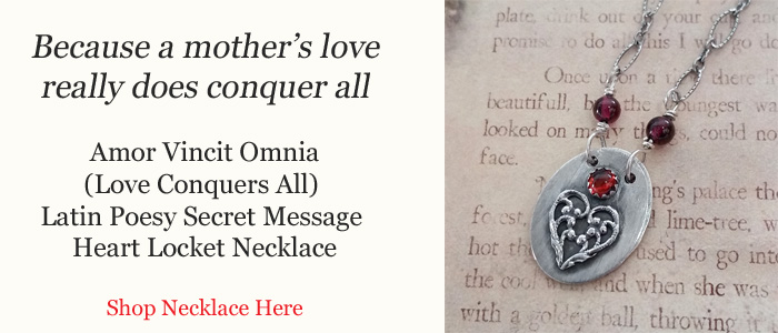 Love Conquers All Secret Message Locket