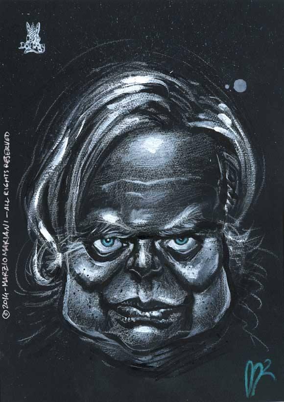 H.R. Giger by Marzio Mariani (All Rights Reserved)