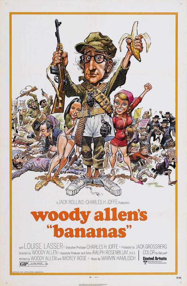 Woody Allen's Bananas