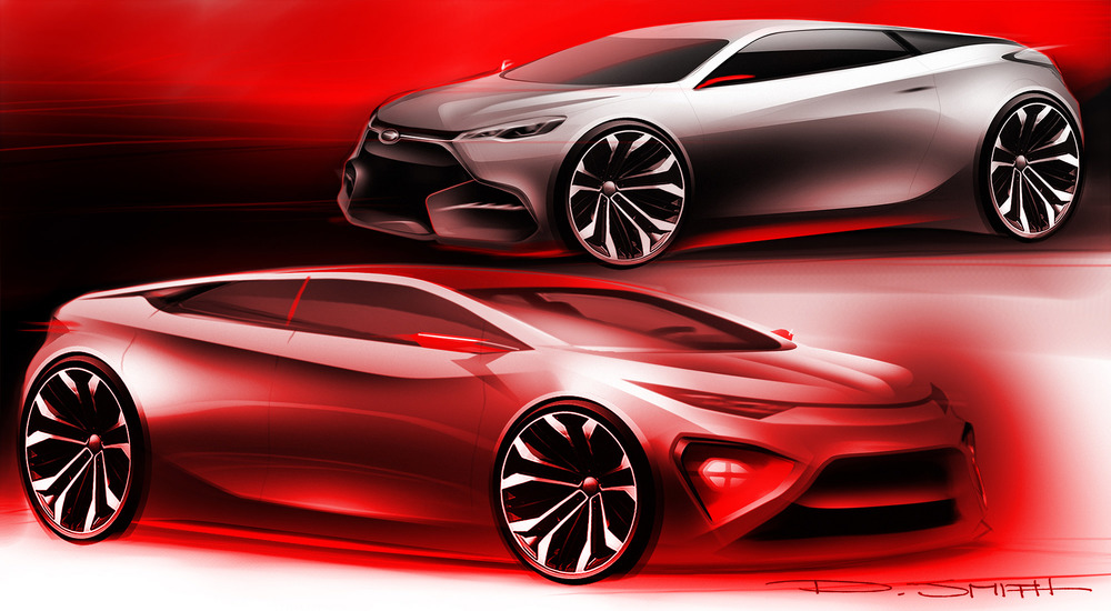 Small Coupe and Sedan Concept
