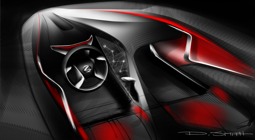 4 Door Coupe Interior Concept