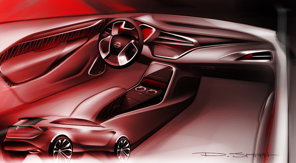 4 Door SUV Interior Concept