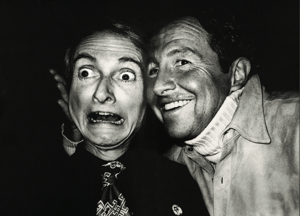 Roy Lichtenstein and Robert Rauschenberg