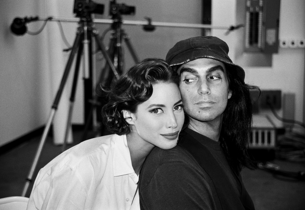 Christy Turlington and Steven Meisel