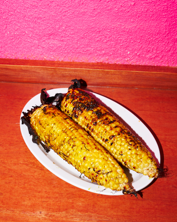 Night market corn