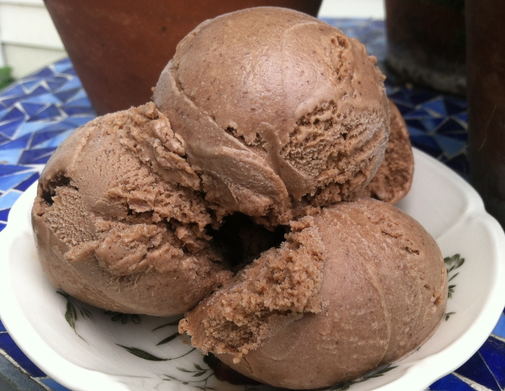 Mexican Chocolate Goat Milk Gelato