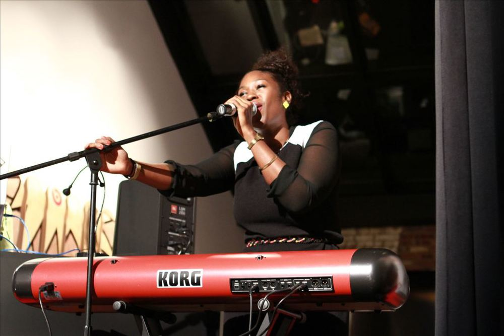 Grammy-nominated musician Muhsinah performing Know This! LIVE Event Photos by NikWes Creative