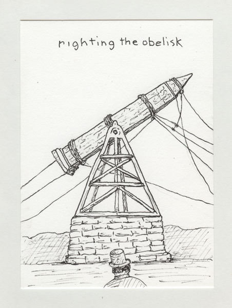 Righting the Obelisk 27