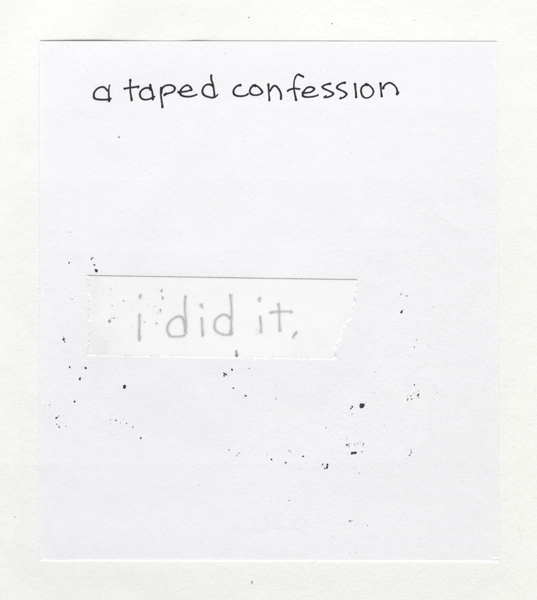 A Taped Confession 226