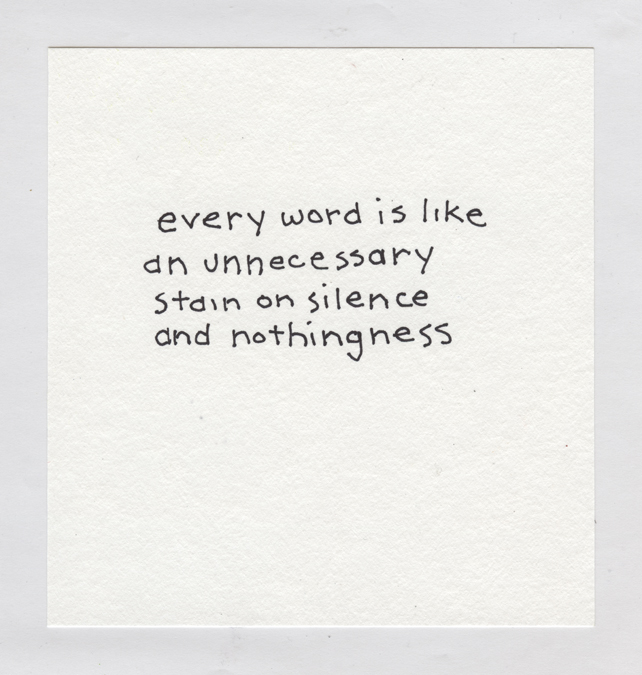 Every Word 374 (Beckett)