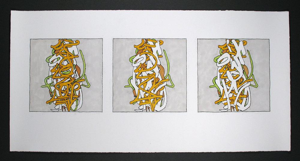 5ixA Triptych