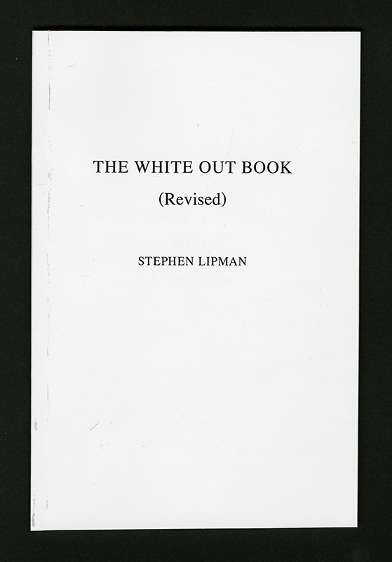 The White Out Book (Revised)