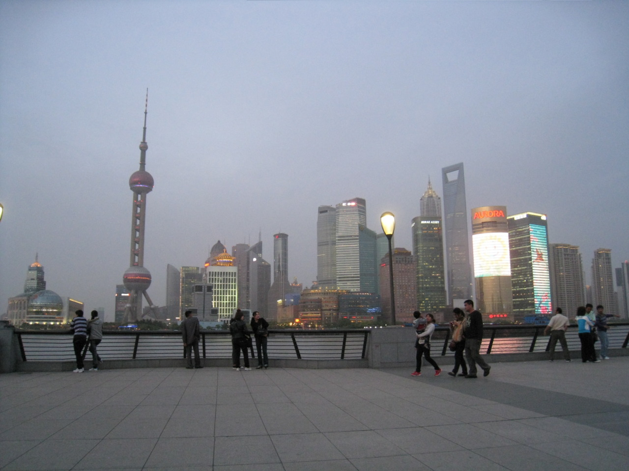 View from the Bund (外滩)