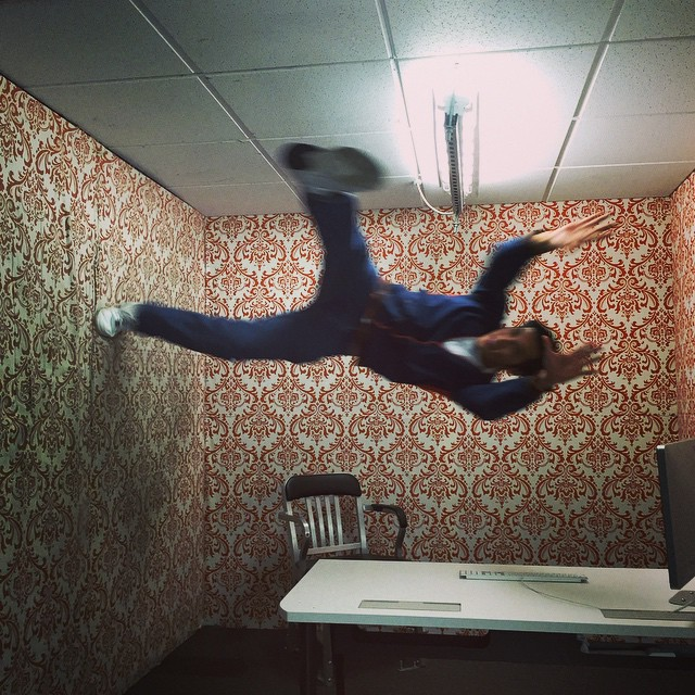 jump #gravityroom #facebook  (at Facebook HQ)