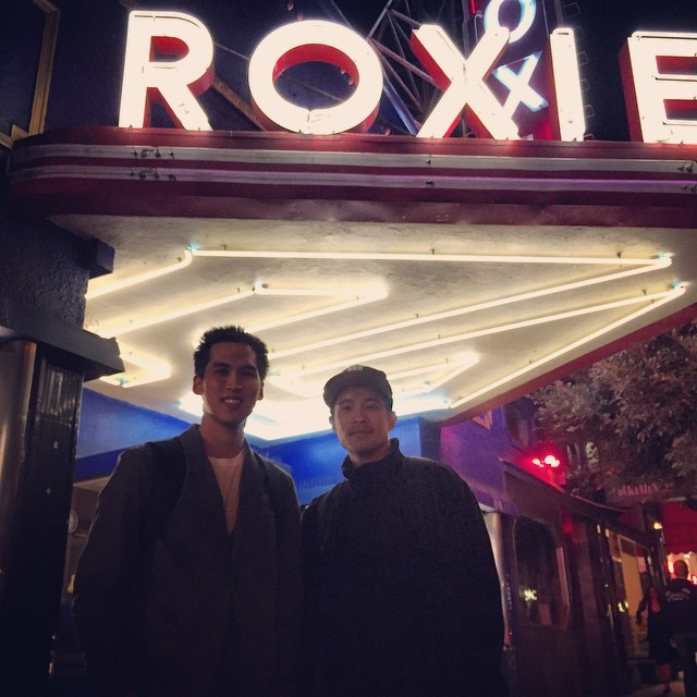 Hanging with Byron at the Roxie