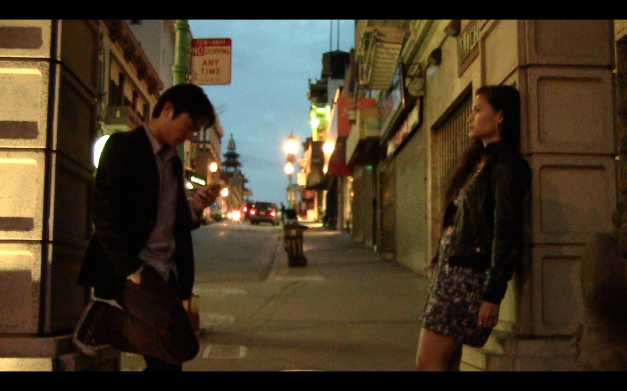 """City Walk"" a short film directed by me. Starring Kristine Gerolaga and Nick Louie. Produced by Chris Wong and myself, with location sound by Daniel Tong.      We shot the film in one crazy night earlier this month in San Francisco Chinatown. Currently in post-production.            Will update soon!"