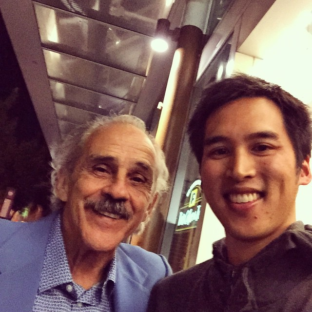 Pepe Serna! Lead actor in #ManfromReno Really inspirational guy.