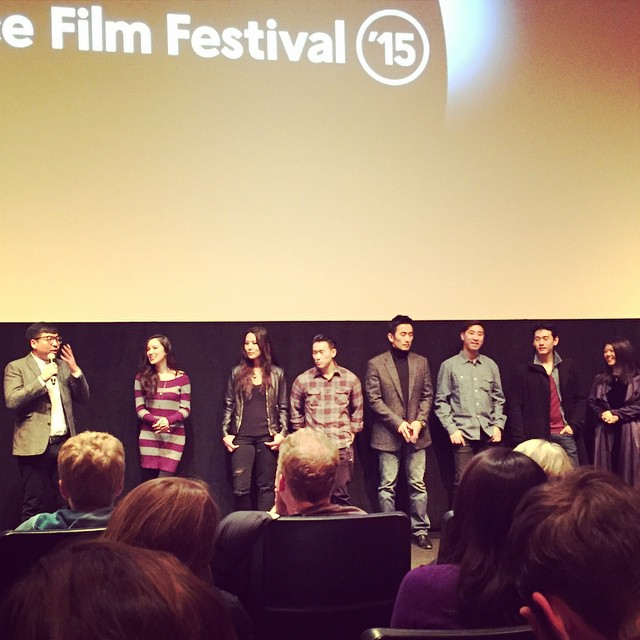 #SeoulSearching Premiere at #Sundance 2015! Great 80s teenager film with heart. #tellyourownstory (at The MARC Theatre)