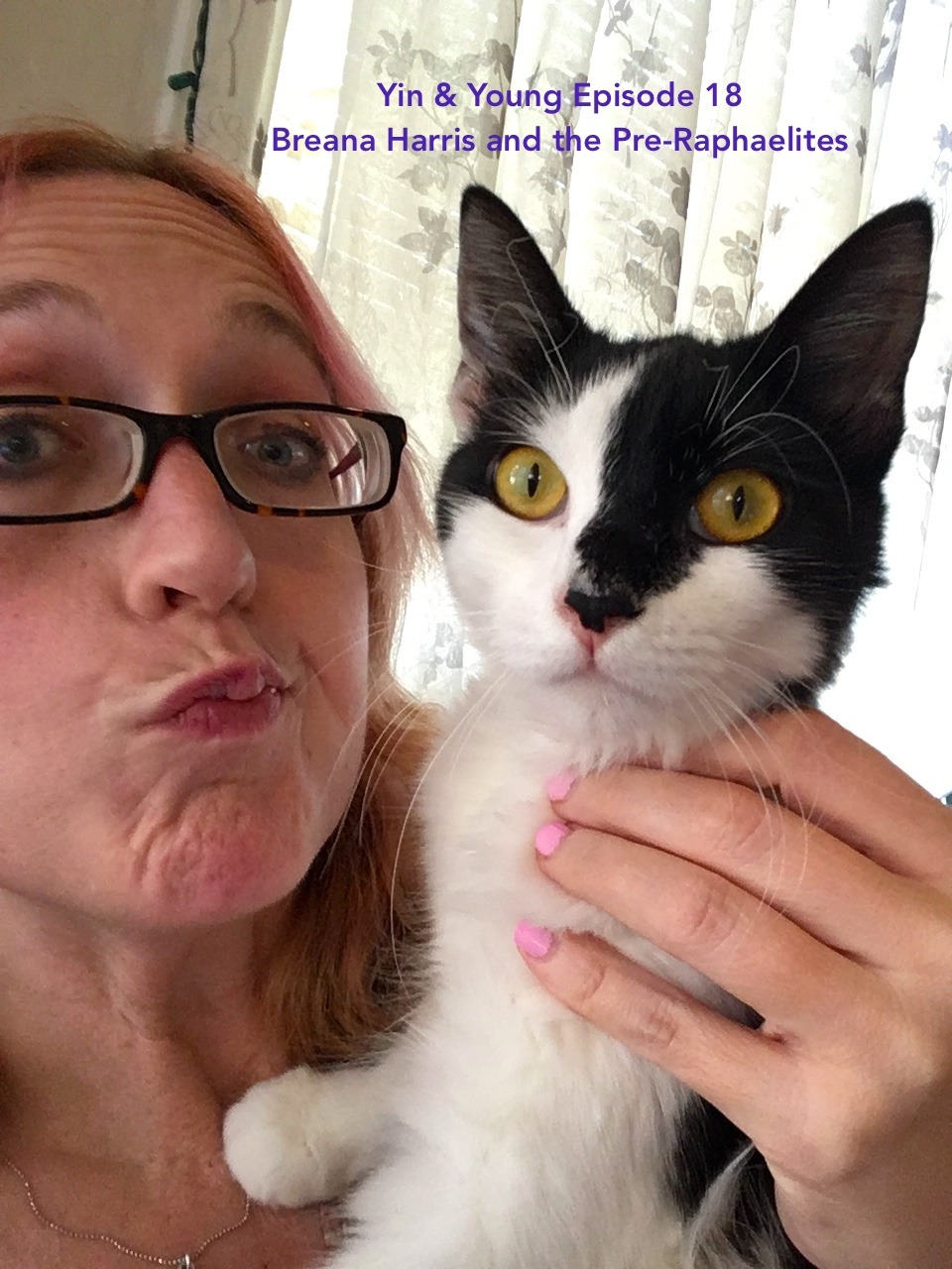 Breana + cat. Photo courtesy of Breana Harris.