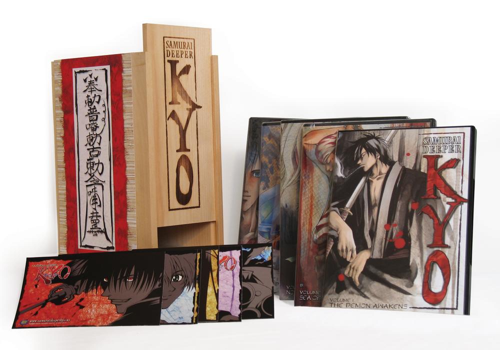 Samurai Deeper Kyo DVD Wood case