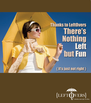 LeftOvers Magazine Ad