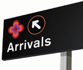 LIITA Airport Terminal Signage