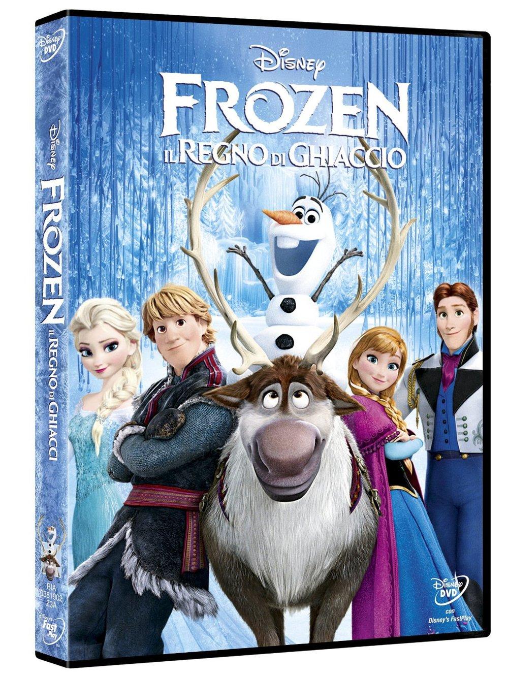 DVD - Frozen - Amazon.it - Walt Disney Pictures (C)