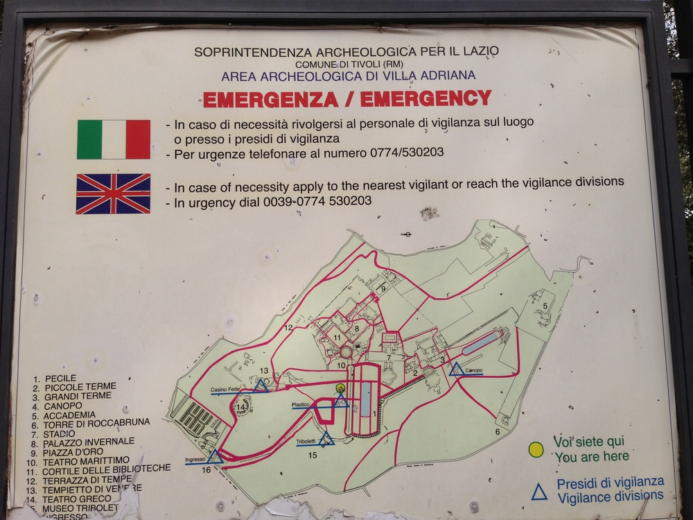 EMERGENZA | TAKEN AT VILLA ADRIANA | TIVOLI (25-40 MIN DRIVE FROM ROME) | SEPTEMBER 20, 2014