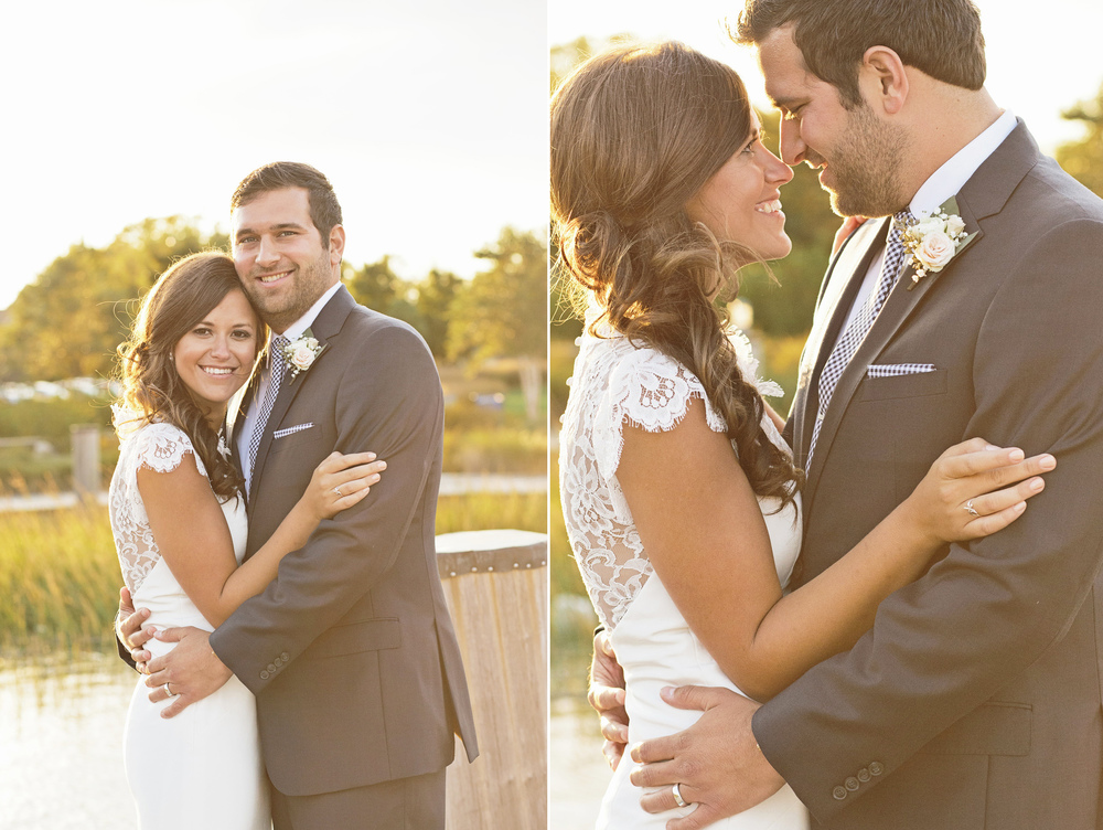 Samm and Andrews's seaside wedding in historic Lewes, Delaware. Photographed By Hudson-Nichols Photography.