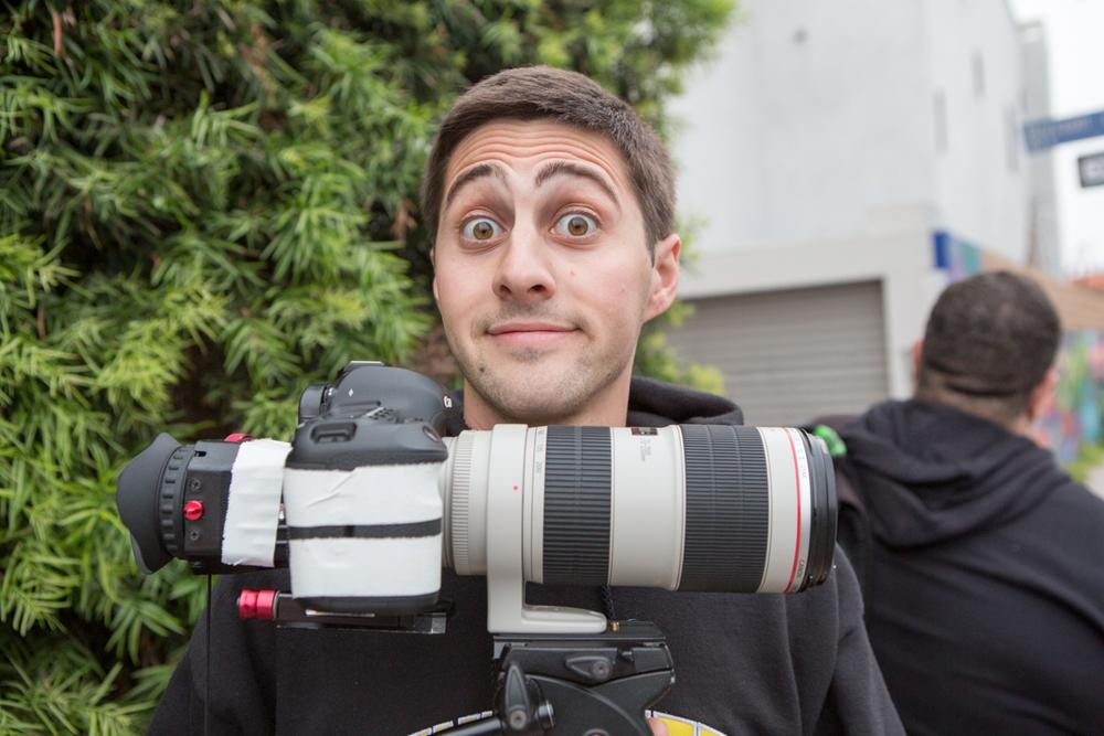 Videographer Nick Giomuso