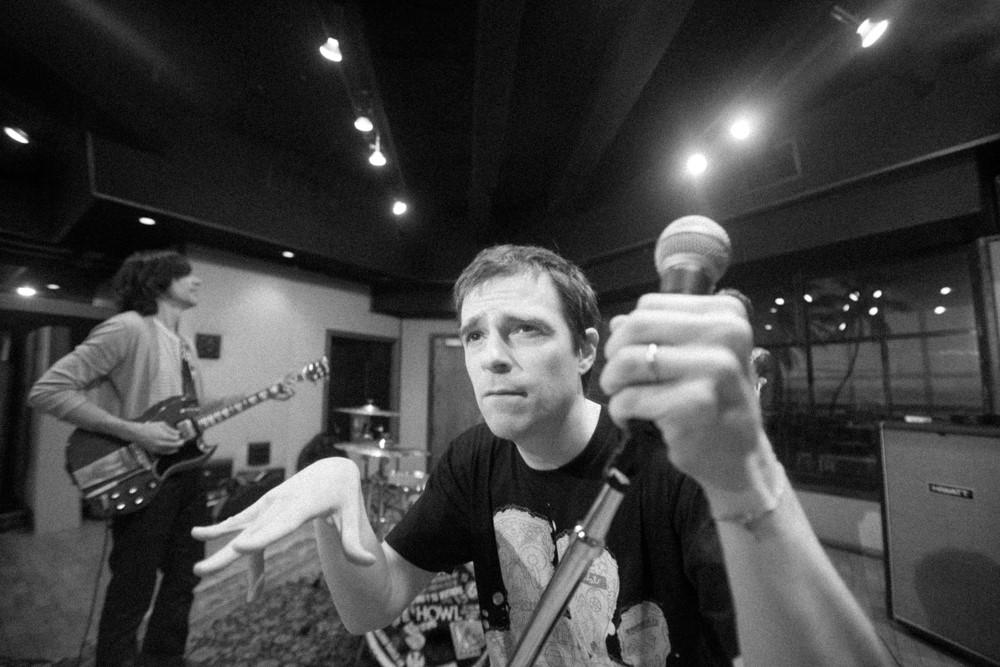 Weezer. Rivers Cuomo, Brian Bell. Photo bySean Murphy