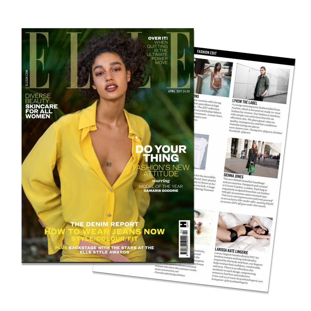 Elle Magazine 2017
