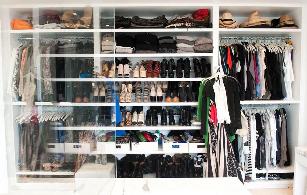 clear closet