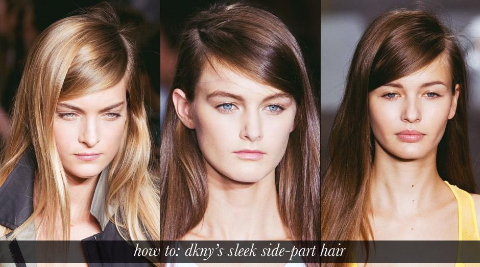 DKNY-sleek-side-hair