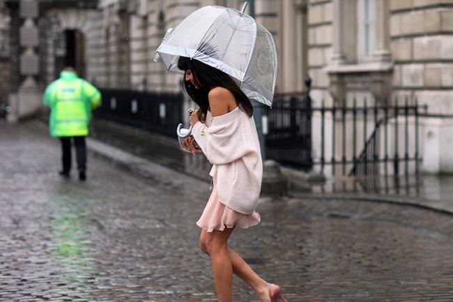 rain street style