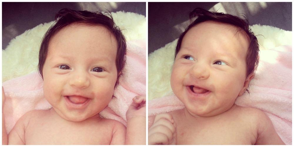Amara smiles