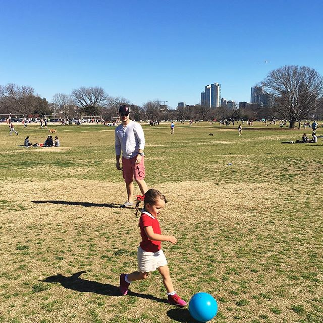 Perfect day #austin #zilkerpark #atx