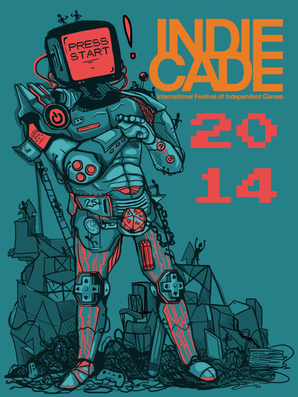 IndieCade 2015 T-Shirt Design
