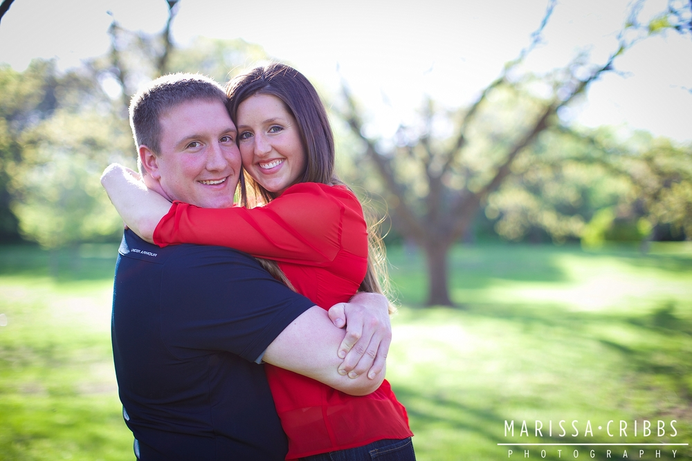 Lawrence Engagement Photography