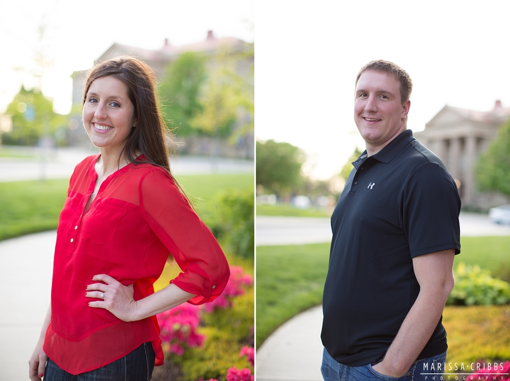 Lawrence Engagement Photographer