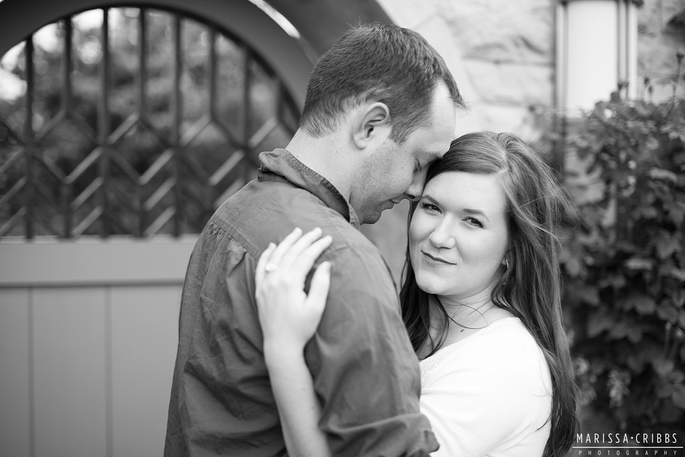 Marissa Cribbs Photography Kansas City Engagement Photos