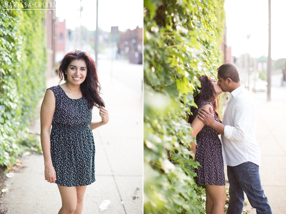 Downtown KC Engagement Photography | Marissa Cribbs Photography