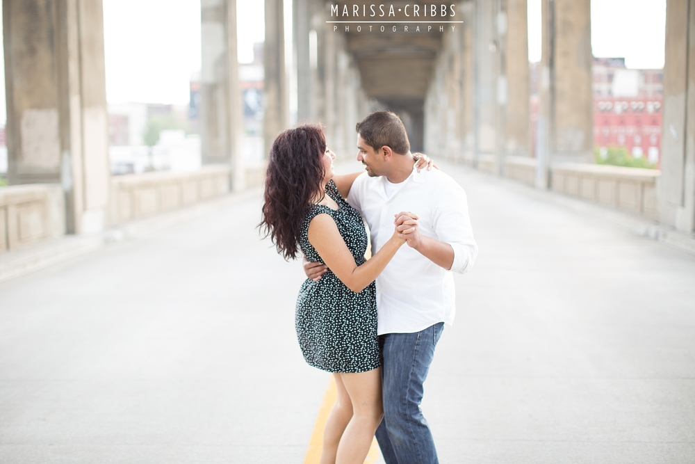 West Bottoms KC Engagement Photography | Marissa Cribbs Photography