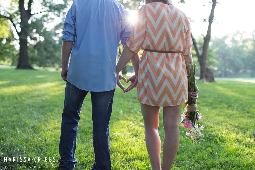 Kansas City Engagement Shoot | Marissa Cribbs Photography