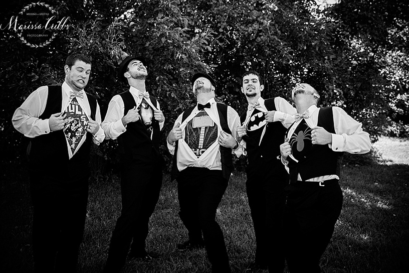 Groomsmen Photos Kansas City
