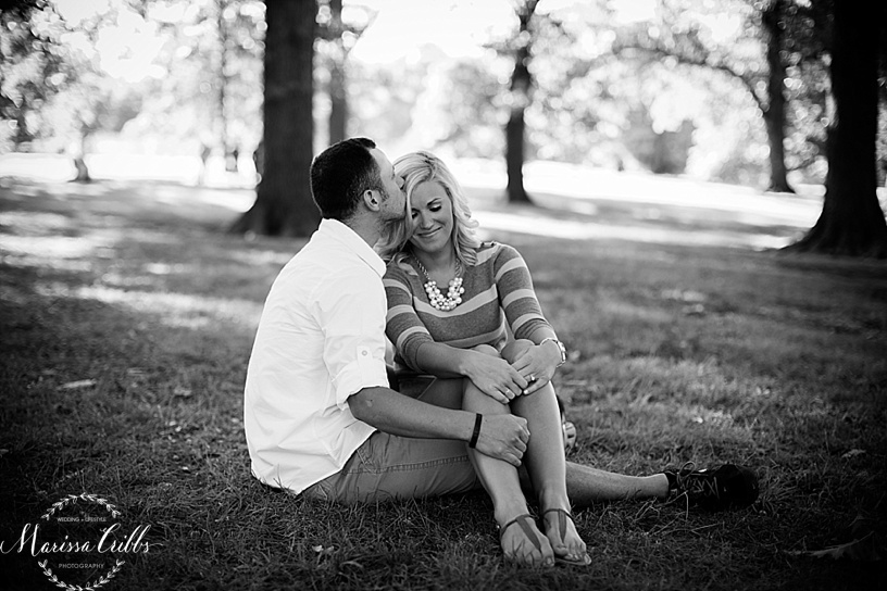 Engagement Pictures Loose Park Kansas City, MO