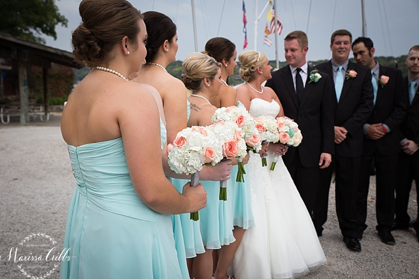 Bridal Party Lake Quivira Country Club