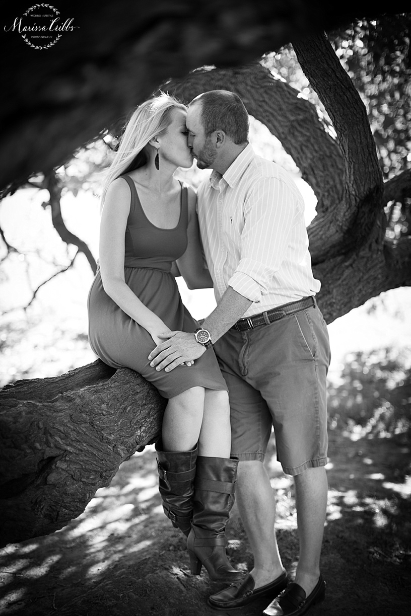 Loose Park Engagement Photos