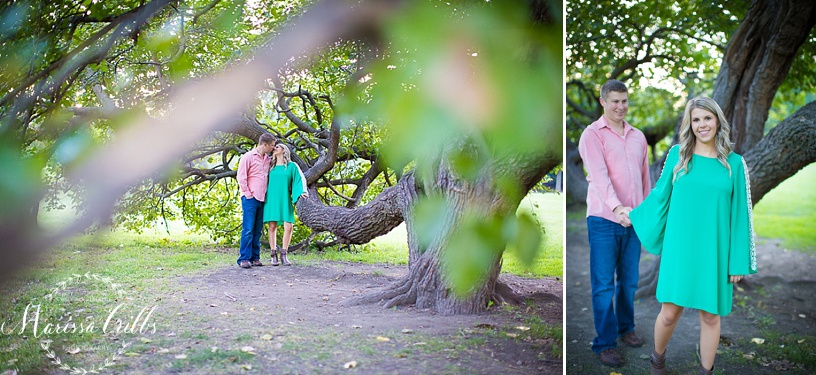 Loose Park Engagement Pictures Kansas City | KC