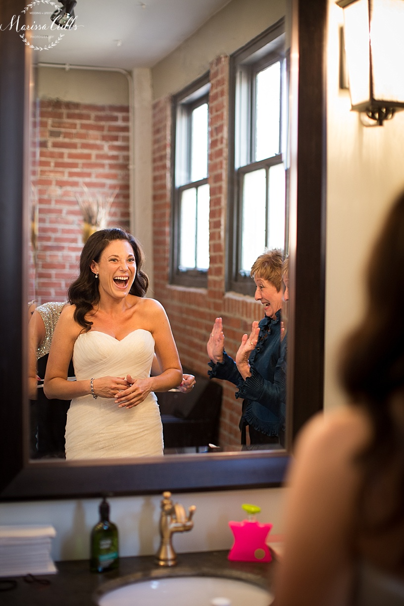 Bride Getting Ready | Marissa Cribbs Photography